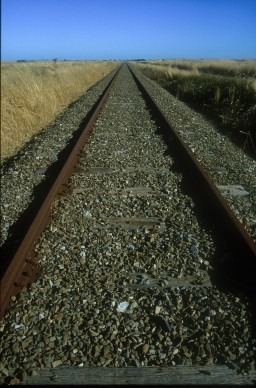 релси около Бъра    | rails near Burra